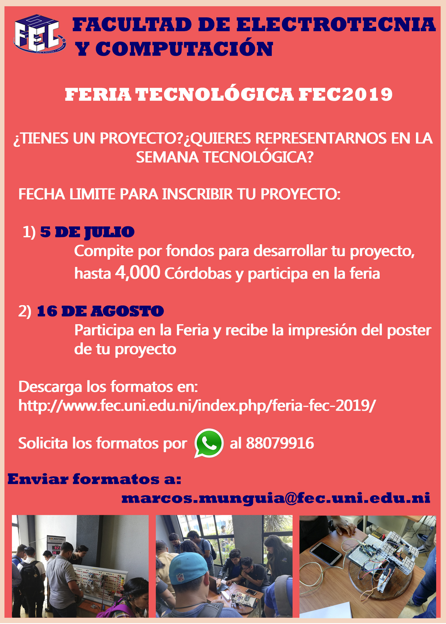2nd call Feria FEC 2019 v1