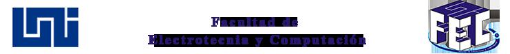 Facultad de Electrotecnia y Computación